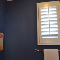 Bathroom Poly Window Shutter
