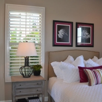 Bedroom Poly Shutter