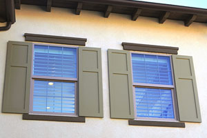 Exterior Window Treatment